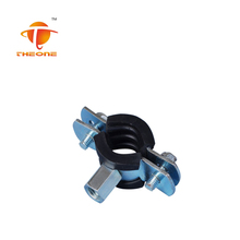 Rubber Hanged Pipe Clamp With Welded M8+M10 Long Nut