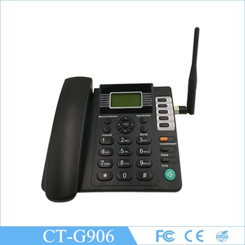 Serviceable fixed wireless desktop phone SIM card telephone G906