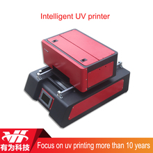 NEW A4 flatbed 6 color touch screen digital UV printer with advanced feature