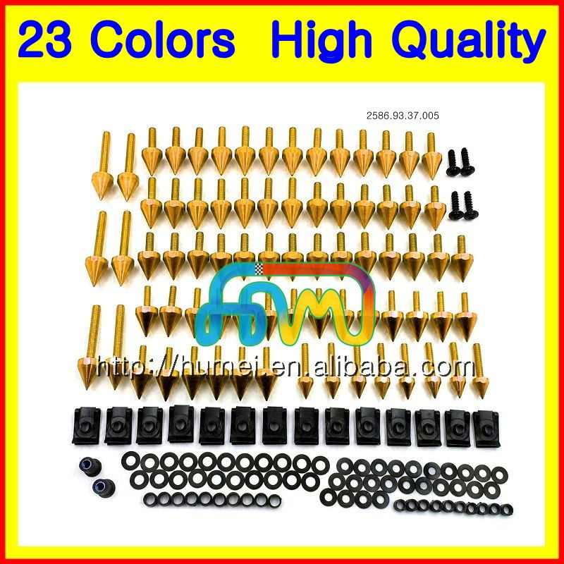 Fairing bolts full screw kit For HONDA CBR250RR 88 89 MC19 CBR250 RR CBR 250RR CBR 250 RR 1988 1989 Motorcycle bolt screws Nuts