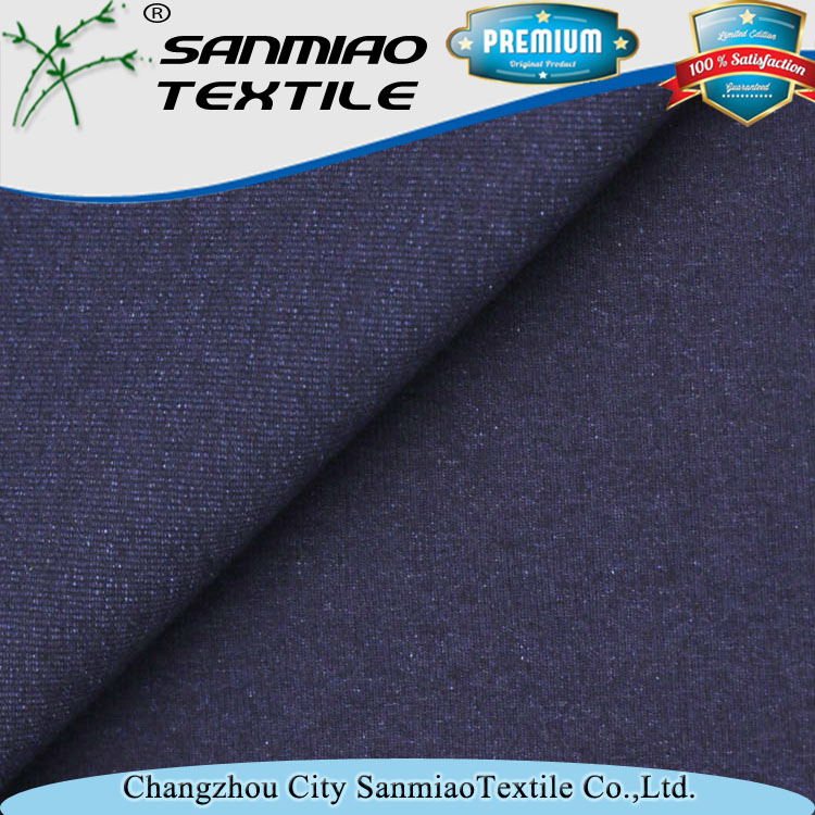 Top Quality knit cotton slub single jersey fabric With Bottom Price