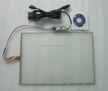 10.4 inch 5 wire Resistive touch screen with usb controller board ST-104003