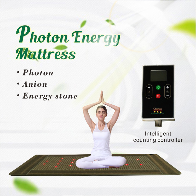 Guangzhou Fuerle F-8210 therapy tourmaline heating korea ceragem jade massage