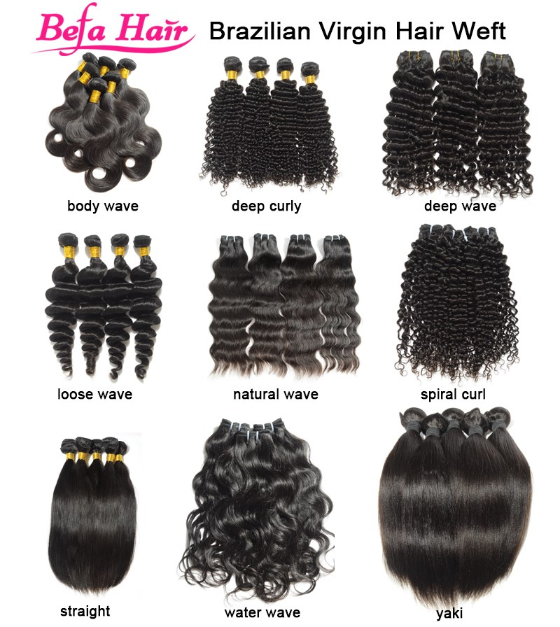 Befa Hair wholesale no tangle no shedding ear to ear lace frontal closure with bundles