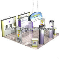 6mX6m Exhibition Booth trade show display booth Portable Display