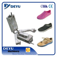 2016 hot sale PVC DIP jelly shoes mould used on Deyu machine open by hand