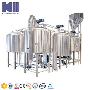Commercial beer making equipment for fruit beer