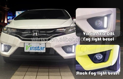 Car Parts Accessories LED Daytime Running Light For Honda Jazz Fit LED DRL