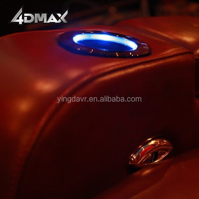 popular hollywood 4d 3dof home movie theatre chairs