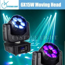 6X15W High Power 4-in-1 LED Moving Head Wash