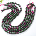 Newest ruby-zoisite natural stones beaded bracelet,jewelry bracelet,stretch bracelet