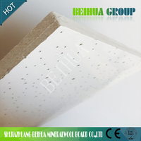 decoration mineral fiber ceiling board/mineral wool celing tiles importer