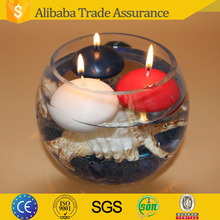 wholesale round ball shape candle for decoration