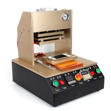 Automatic Bracket Pressure Machine LCD Repair Frame Laminator Machine With Metal Moulds for phone