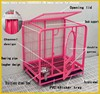 Made in China factory direct sale foldable large dog cage with wheels