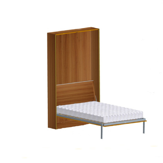 Hot sale Simple Bedroom Murphy Folding Wall Bed Furniture Accessories