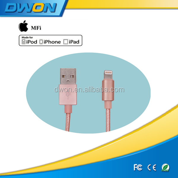 For Iphone Apple Data Charge Cable Cord 1M USB Cable shenzhen factory