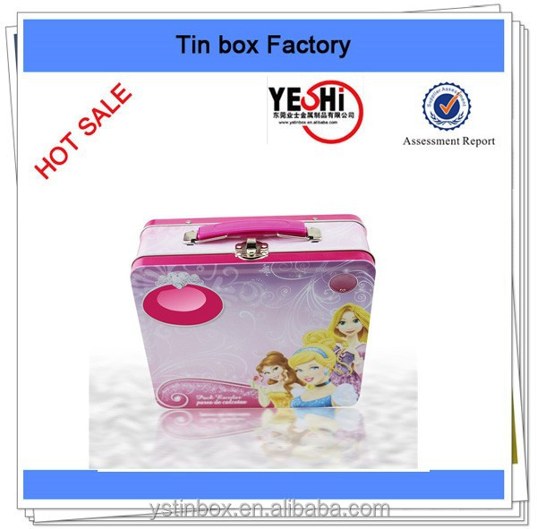 "Customize lunch tin boxes for ""Disney"" Kids food packing"