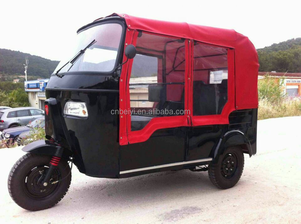 New Design 200cc 250cc Mini Passenger Tuk Tuk Motorized Tricycles With CE in Mali