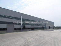 steel structure galvanized petrol station construction building