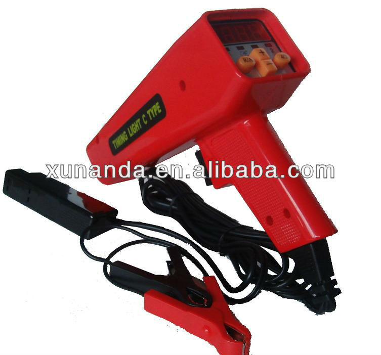vehicle diagnostic tools/Digital timing light with double reading for gasoline engines