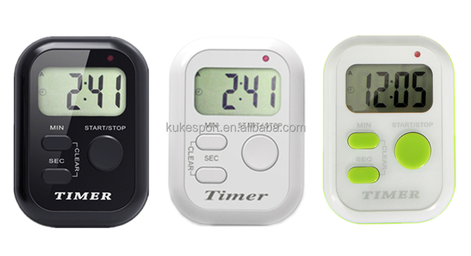 1 Group Cycle Timer with Vibrator,Clock Countdown Time manager