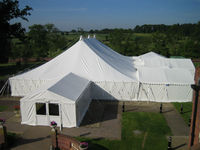 White Marquee Tent by Shade Systems EA Ltd