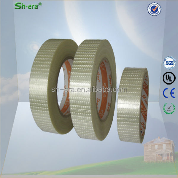 heat restistant self adhesive fiberglass tape for cable wire bonding with free sample