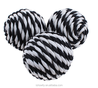 pet toy cotton rope ball dog chew ball