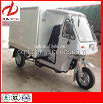 200cc Cargo Three Wheel Motorcycle With Closed Box