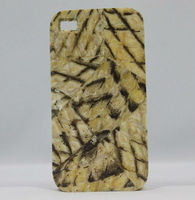 Cell Phone cover inlay with Fish skin