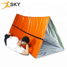Orange Mylar Survival <strong>Tent</strong>