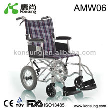 (AMW06)Manual Aluminum wheel chair for disabled