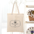 100% Cotton Canvas printing Shopping Bag Shoulder Bag Tote Bag