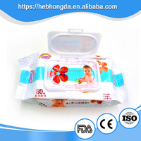 Alcohol free soft refresh baby wet wipes wholesale