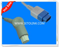 2015 Best offer Reusable Datex Ohmeda TS-N3 Pin SPO2 Extension Adapter Cable SPO2 Adapter Cable