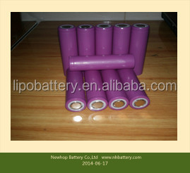 Manufacture high rate discharge cell battery ,rechargeable lithium iron phosphate power battery 18650 1300mAh
