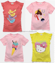 We Have Stocks For Kids Childrens kids Cotton Printed T-shirt Vest Top (2-6years) 300pcs/Lot