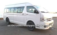 2015 TOYOTA HIACE High Roof GL 2.7L GL 15 Seats Full Option Mini Bus