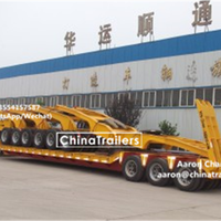 60 To 150 Tons Lowboy Trailer