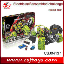SDL New Product Electric Outdoor Challenger RC Tumbler Stunt Car Self Assembling Off Road High Speed Monster Car