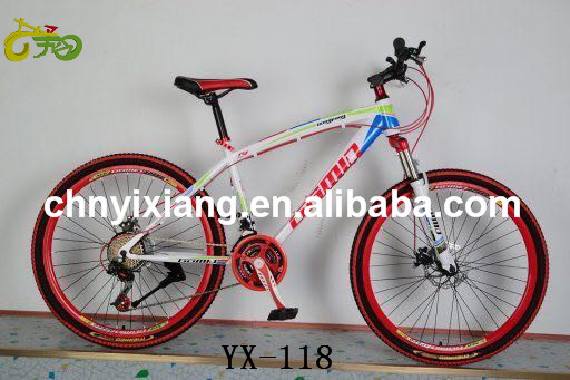 Good quality 26'' frame mountain bike made in China steel mtb bicycle