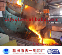0.8 ton electric arc furnace for smelting excellent carbon steel and all kinds of alloy steel