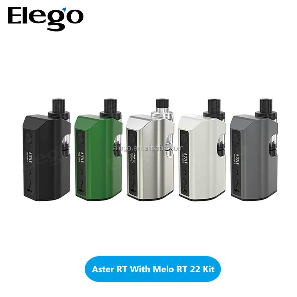 2018 health & medical eleaf ijust s kit /eleaf istick pico kit/Eleaf Aster RT With Melo RT 22 Kit from elego wholesale
