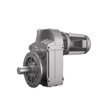 Transmission parts Parallel Shaft helical reduction motor gearbox
