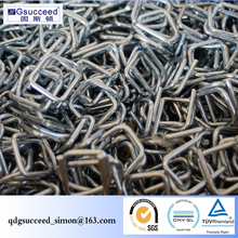 High-Strenght Galvanized or Phosphate Coated Steel Wire Buckles Used For 13mm Polyester Strap,Used For Packaging