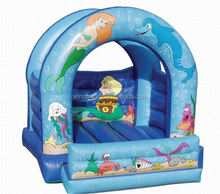 Inflatable Little Mermaid Bouncer For Commercial