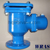 WRAS approved double air valve