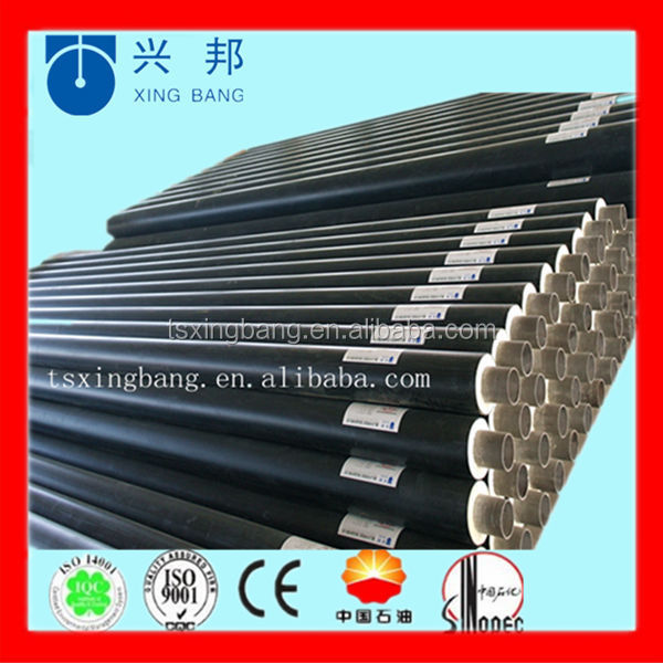 underground pur foam insulated steel pipe for district heating and cooling