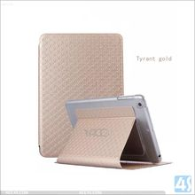 For APPLE iPad Air 2 cheap price smart cover PU Leather Case with stand
